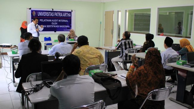Pelatihan Audit Internal SNI ISO. (doc/UPA)