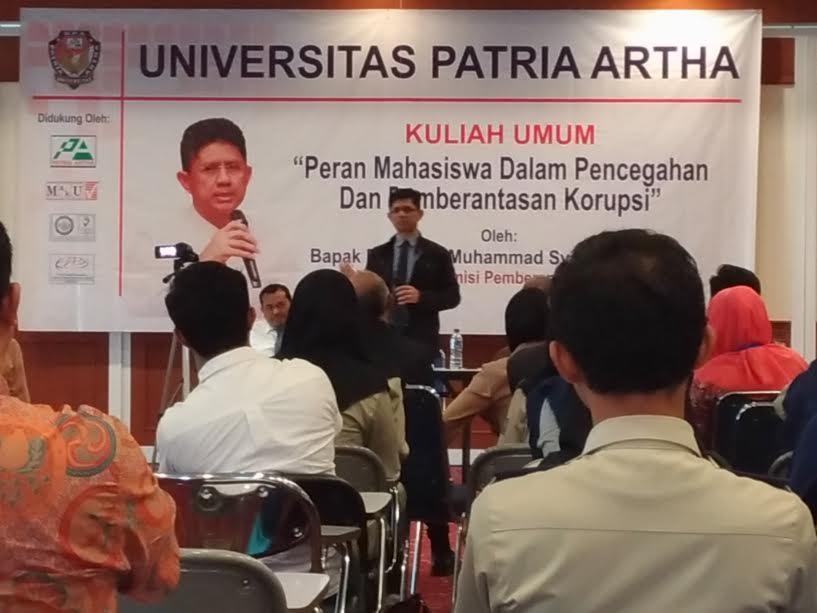 Wakil Ketua Komisi Pemberantasan Korupsi (KPK) Dr Laode Muhammad Syarif. (doc/UPA)